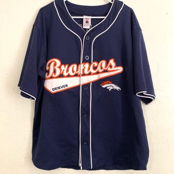 timeless design 97593 ac628 Vintage Denver Broncos baseball jersey